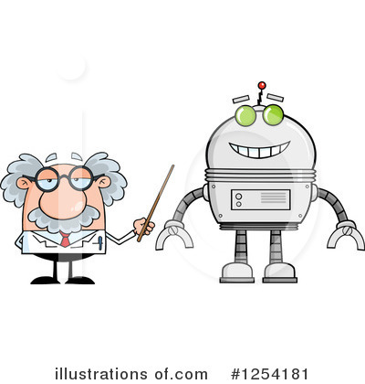 Professor Clipart #1254181 by Hit Toon