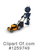 Robot Clipart #1259749 by KJ Pargeter