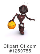 Robot Clipart #1259755 by KJ Pargeter