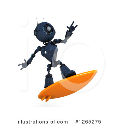 Surfer Clipart #1265275 by KJ Pargeter