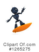 Royalty-Free (RF) Robot Clipart Illustration #1265275
