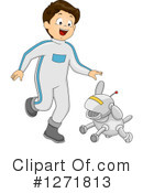 Royalty-Free (RF) Robot Clipart Illustration #1271813