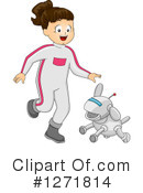 Royalty-Free (RF) Robot Clipart Illustration #1271814