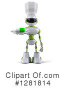 Robot Clipart #1281814 by Julos