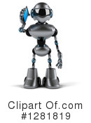 Robot Clipart #1281819 by Julos