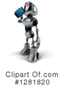 Robot Clipart #1281820 by Julos