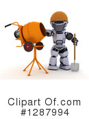 Robot Clipart #1287994 by KJ Pargeter