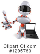 Robot Clipart #1295760 by Julos