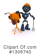 Robot Clipart #1306740 by KJ Pargeter