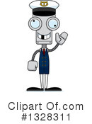 Robot Clipart #1328311 by Cory Thoman