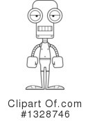 Robot Clipart #1328746 by Cory Thoman