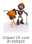 Robot Clipart #1335920 by KJ Pargeter