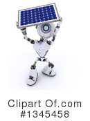 Royalty-Free (RF) Robot Clipart Illustration #1345458