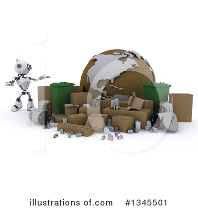 Recycle Clipart #1345501 by KJ Pargeter