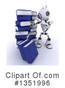 Royalty-Free (RF) Robot Clipart Illustration #1351996