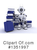 Royalty-Free (RF) Robot Clipart Illustration #1351997