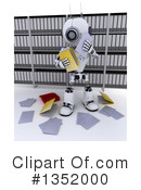Royalty-Free (RF) Robot Clipart Illustration #1352000