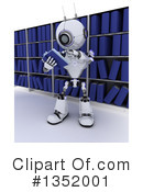 Royalty-Free (RF) Robot Clipart Illustration #1352001