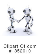 Royalty-Free (RF) Robot Clipart Illustration #1352010