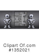 Royalty-Free (RF) Robot Clipart Illustration #1352021