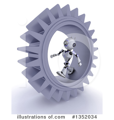 Gears Clipart #1352034 by KJ Pargeter