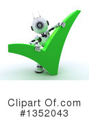 Robot Clipart #1352043 by KJ Pargeter