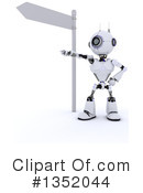 Robot Clipart #1352044 by KJ Pargeter
