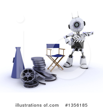 Clapperboard Clipart #1356185 by KJ Pargeter
