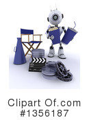 Royalty-Free (RF) Robot Clipart Illustration #1356187
