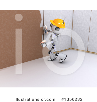 Royalty-Free (RF) Robot Clipart Illustration by KJ Pargeter - Stock Sample #1356232