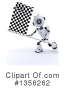 Royalty-Free (RF) Robot Clipart Illustration #1356262