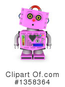 Robot Clipart #1358364 by stockillustrations