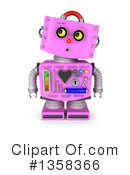 Robot Clipart #1358366 by stockillustrations
