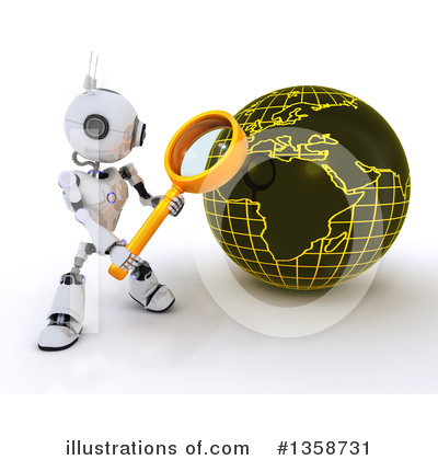 Magnifying Glass Clipart #1358731 by KJ Pargeter