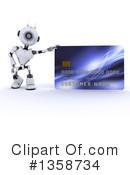 Robot Clipart #1358734 by KJ Pargeter