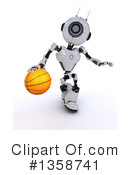 Robot Clipart #1358741 by KJ Pargeter