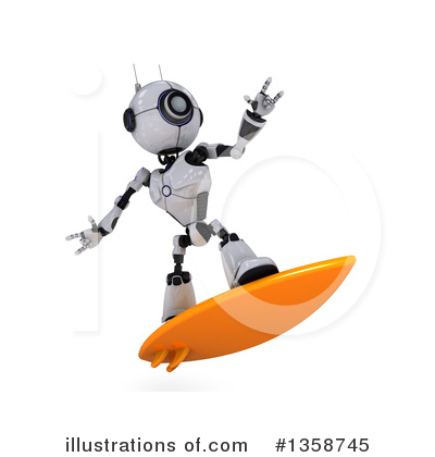 Surfer Clipart #1358745 by KJ Pargeter