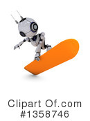 Robot Clipart #1358746 by KJ Pargeter