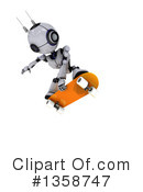 Robot Clipart #1358747 by KJ Pargeter