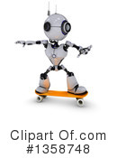 Robot Clipart #1358748 by KJ Pargeter