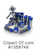 Robot Clipart #1358749 by KJ Pargeter