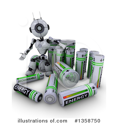 Robot Clipart #1358750 by KJ Pargeter