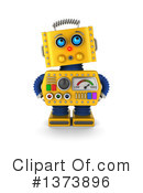 Robot Clipart #1373896 by stockillustrations