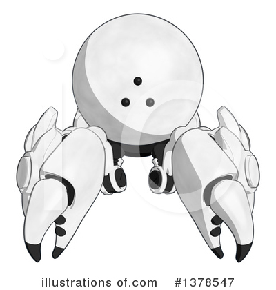 Robot Clipart #1378547 by Leo Blanchette