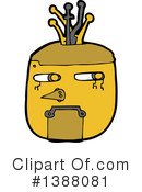 Robot Clipart #1388081 by lineartestpilot