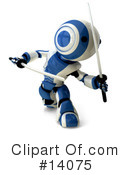 Royalty-Free (RF) Robot Clipart Illustration #14075