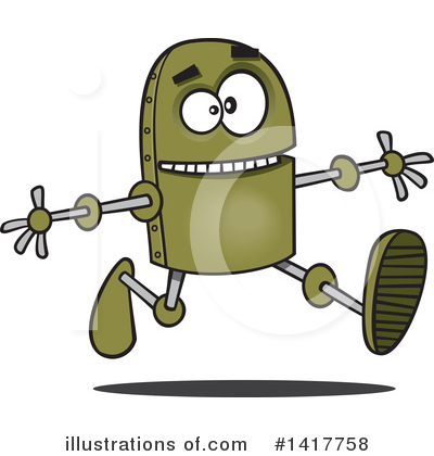 Robot Clipart #1417758 by toonaday