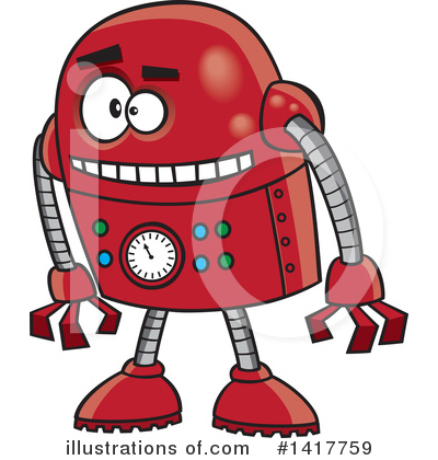 Robot Clipart #1417759 by toonaday