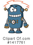 Robot Clipart #1417761 by toonaday