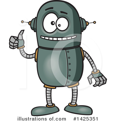 Robot Clipart #1425351 by toonaday
